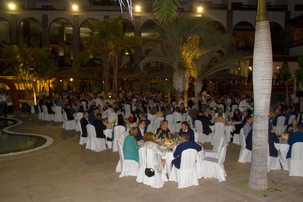 Cena de clausura del XIX Congreso ANFEC.