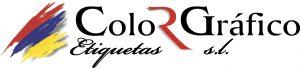 Logo de Color Gráfico Etiquetas